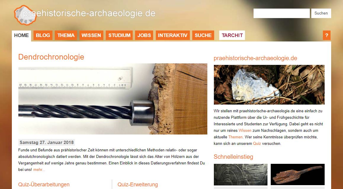Website datiert