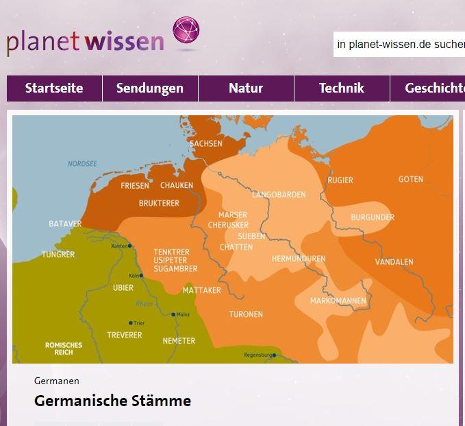 Germanische Stamme Archaologie Der Zukunft